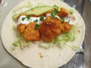 Taco Tuesday: Buffalo Chicken Tacos