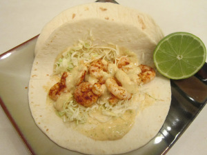 Taco Tuesday: Shrimp Tacos with Jalapeno Ranch Sauce