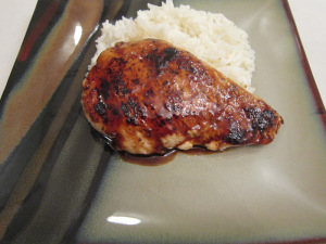 Balsamic-Guava Glazed Chicken