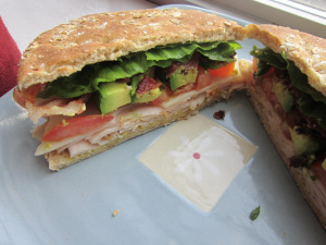 Sammich Saturday: Turkey Bacon Swiss