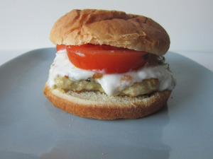 Sammich Saturday: Middle Eastern Chicken Burger