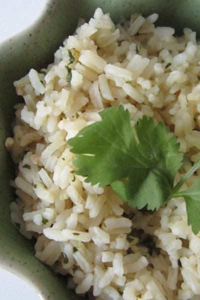 Recipe Swap: Mexican Green Cilantro Rice