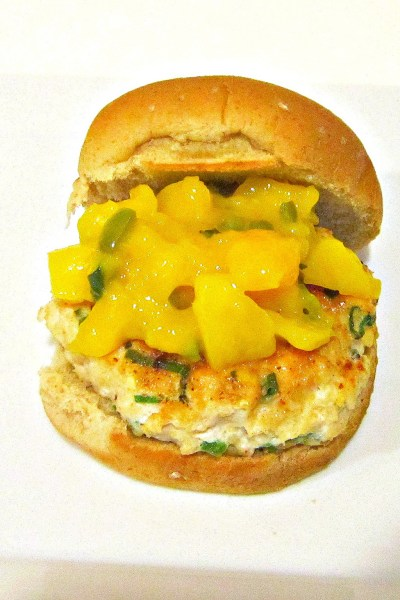 Sammich Saturday: Blackened Chicken Sliders with Warm Mango Salsa