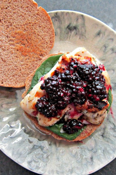 Sammich Saturday: Brie & Blackberry Chicken Sammich