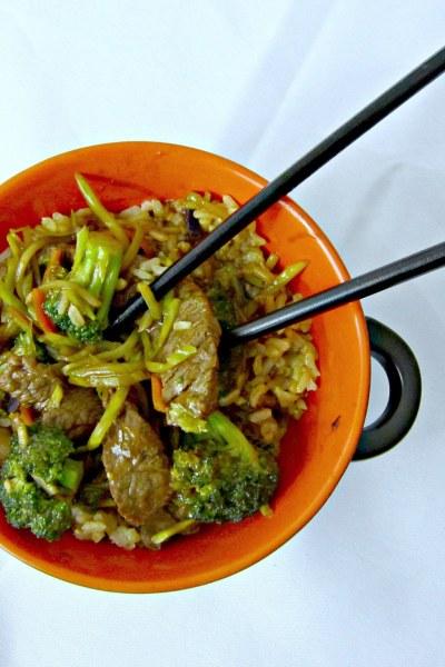Beef 'n' Broccoli Stir Fry