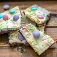 Easter Chocolate Bark #SpringSweetsWeek