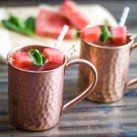 Watermelon Mint Moscow Mule