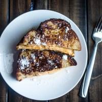 Pumpkin Cream Cheese Stuffed French Toast #PumpkinWeek