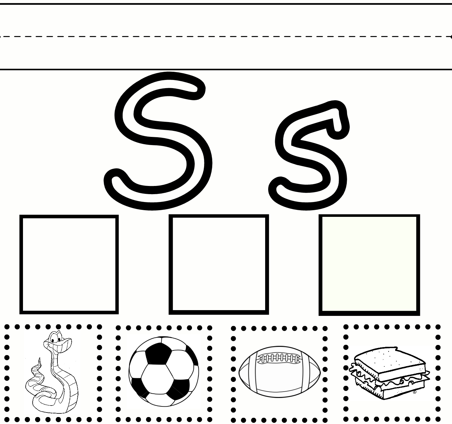 Images About Preschool Ideas The Letter S On