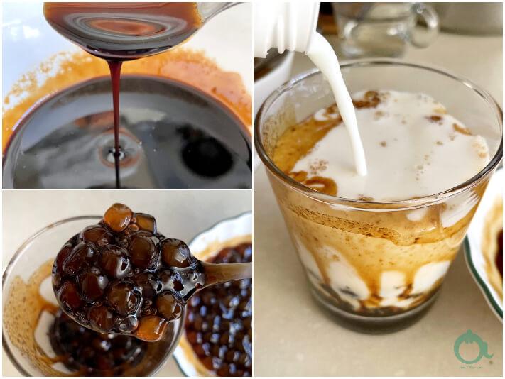 黑糖珍珠鮮奶作法