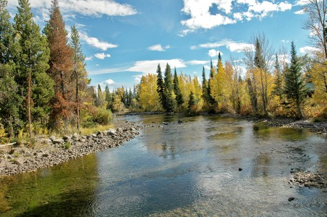 Wyoming, Fall, Stream