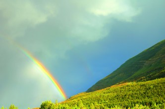 Half Rainbow, Waterton