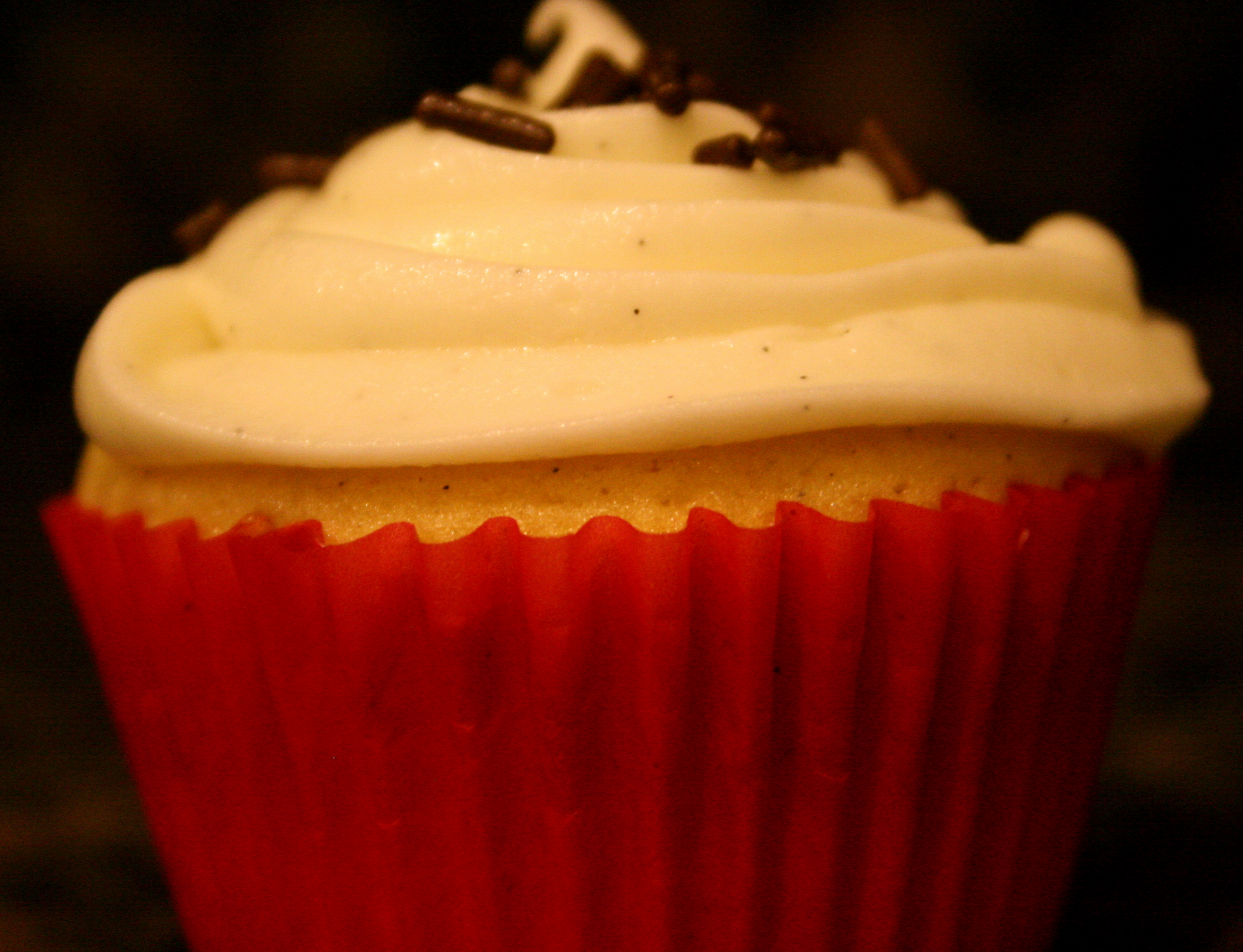 how to make vanilla bean frosting