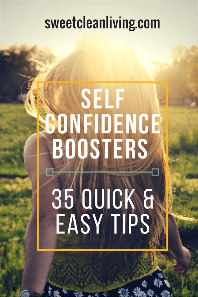Seld Confidence Booster - 35 Quick & Easy Tips