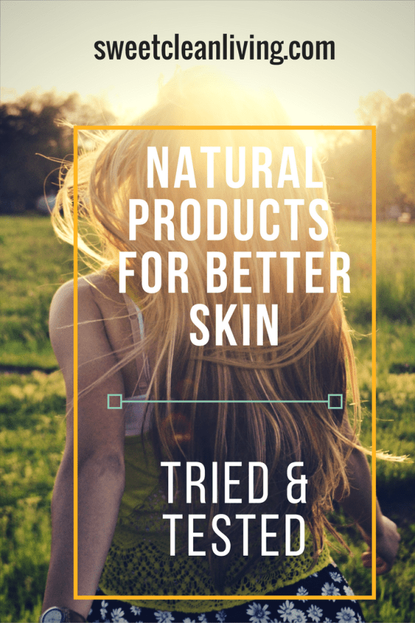 Natural Beauty Products | Sweet Clean Living