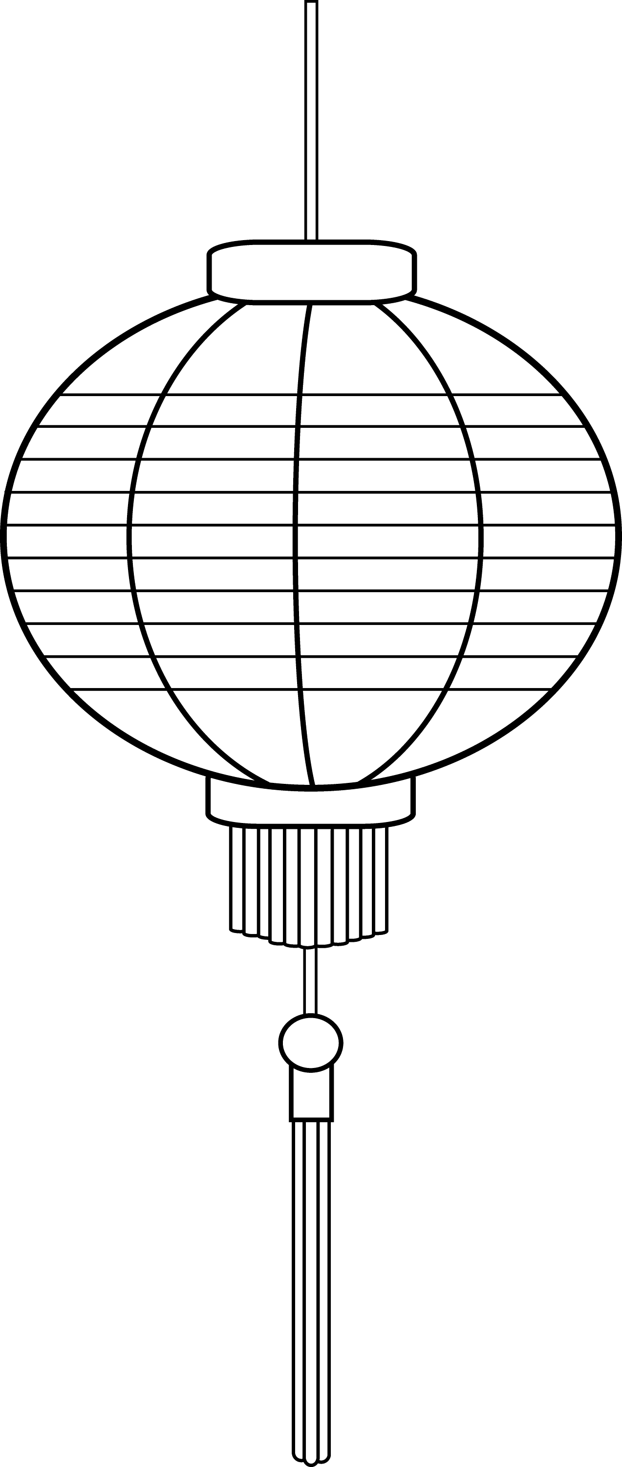 Japanese Lantern Worksheet