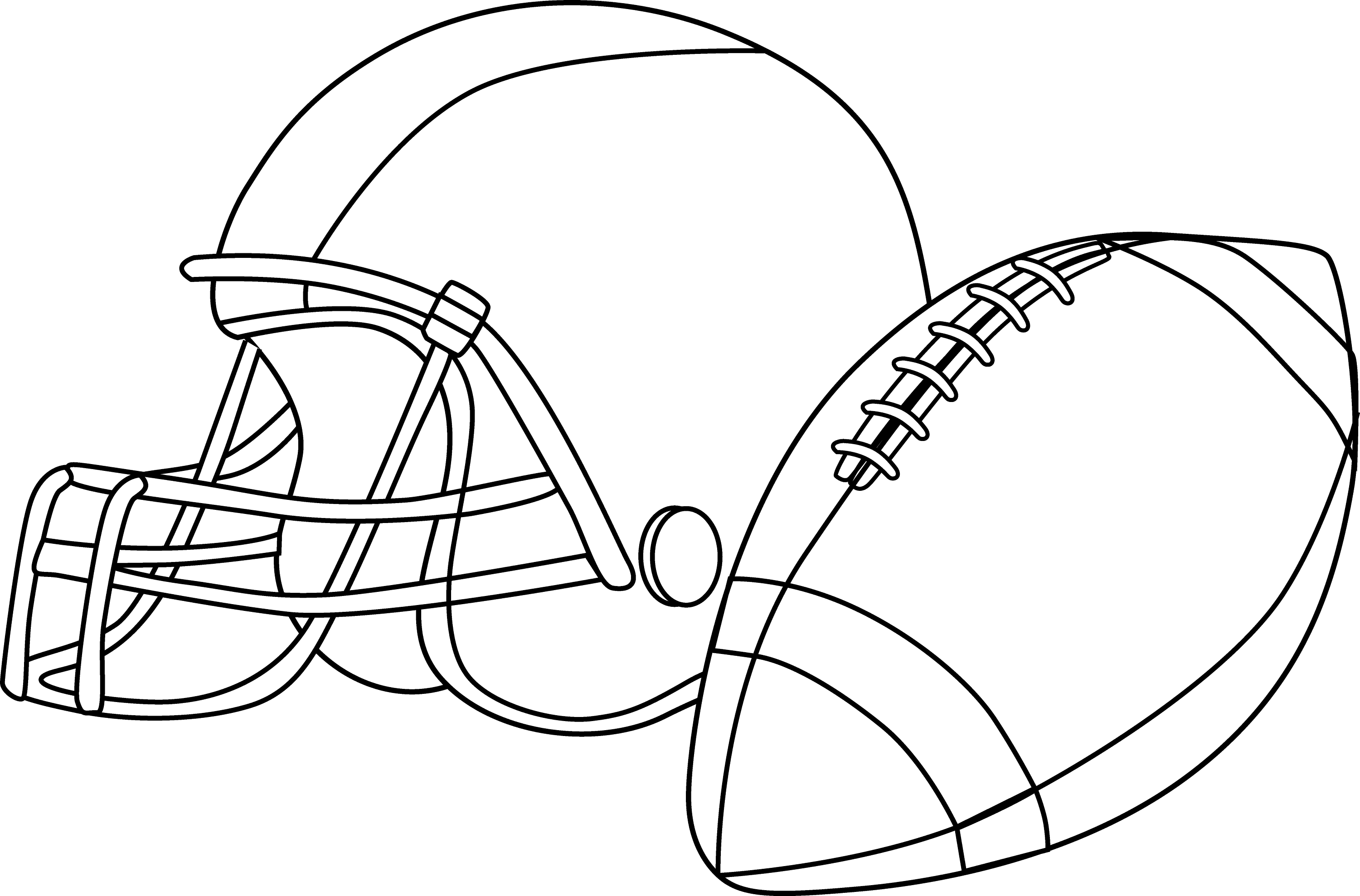 Football Or Rugby Coloring Page