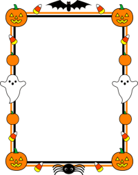 free halloween border designs