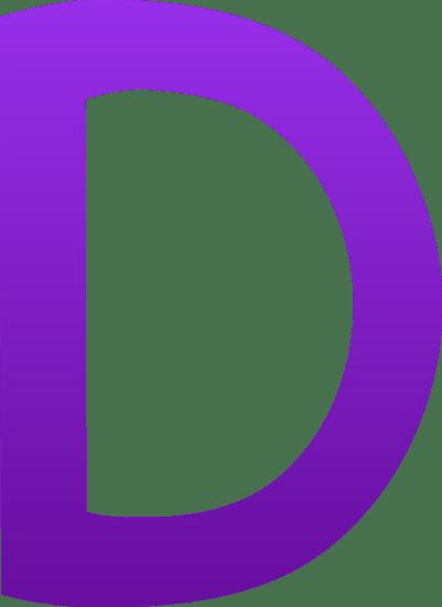 The Letter D Free Clip Art