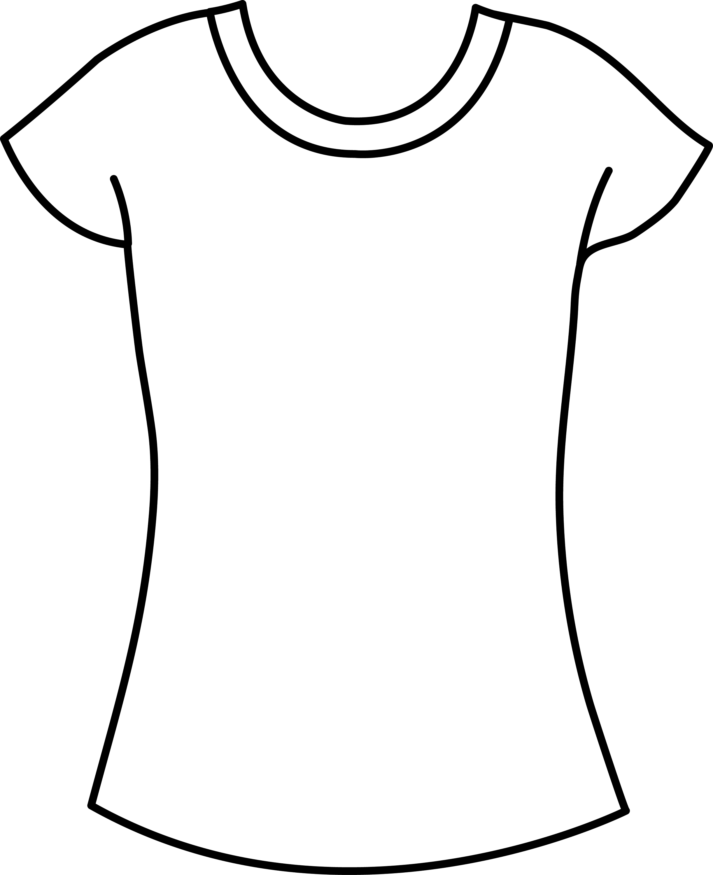 Womens T Shirt Template