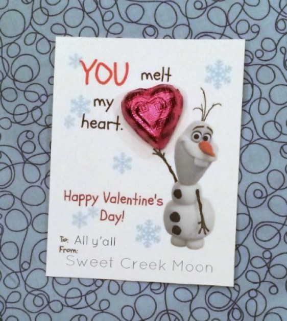 You melt my heart valentine with heart