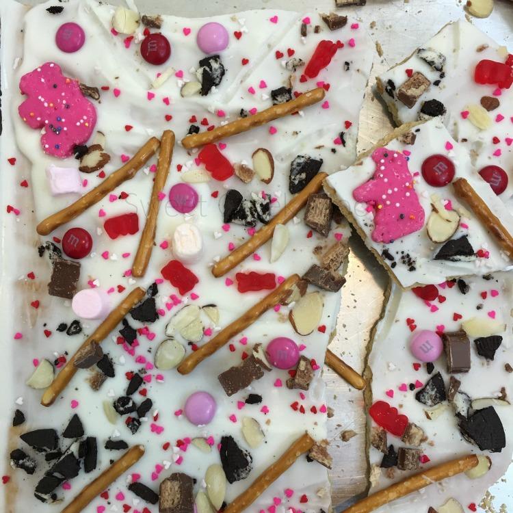 Valentine's Day Bark pan 2