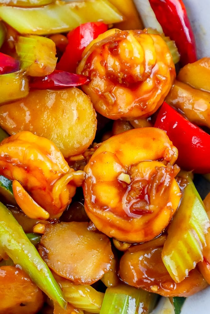 The Best Easy Kung Pao Shrimp Recipe - Chinese Food