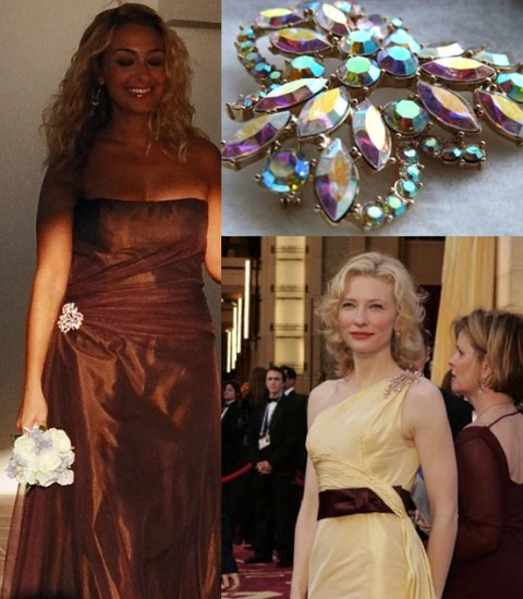 gown brooch