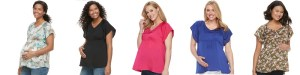 CLEARANCE! AS LOW AS $2.52 (Reg $36.00) Maternity Satin Top