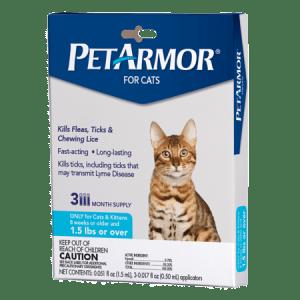 CLEARANCE! Walmart: $10.29 (Reg $17.98) PetArmor Flea & Tick Prevention for Cats