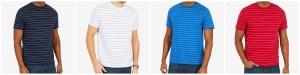 SALE! $9.93 (Reg $24.98) Nautica Men's Striped T-Shirt