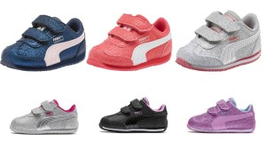 SALE! AS LOW AS $10.99 (Reg $45.00) Puma Glitz Baby Sneakers