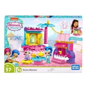 SALE! $11.99 (Reg $29.99) Mega Bloks Shimmer and Shine Genie Market