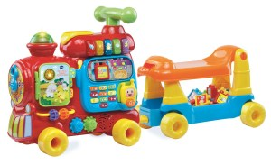 SALE! $39.82 (Reg $49.96) VTech, Sit-to-Stand Ultimate Alphabet Train, Ride-On Train Toy