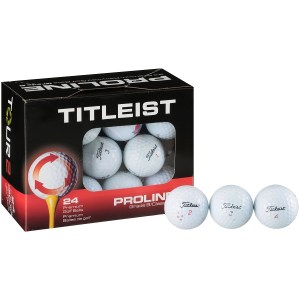 SALE! $13.99 (Reg $19.99) Titleist Proline Golf Balls, 24 Pack