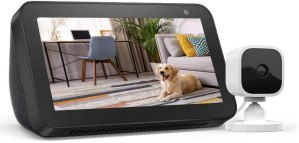 Cyber Monday Deal! $49.99 (Reg $124.98) Echo Show 5 Charcoal with Blink Mini Indoor Smart Security Camera