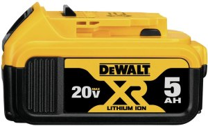 PRICE DROP! $78.79 (Reg $158.00) DEWALT 20V MAX XR Battery, Lithium Ion, 5.0Ah