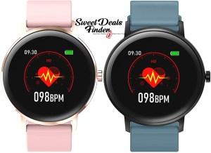 50% OFF! $19.99 (Reg $39.99) 1.22″ Full Touch Screen Smart Watch Fitness Tracker