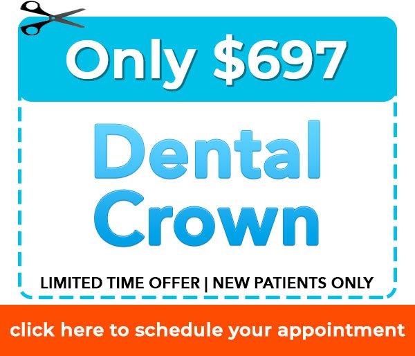 New Patient Dental Crown Offer Dentist Danbury, CT