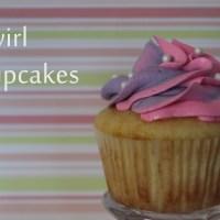 Swirl Cupcakes {tutorial}