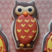 Owl Sugar Cookies {tutorial}