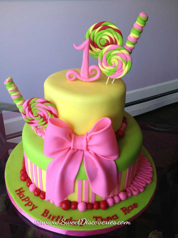 Candy Land Cake Sweet Discoveries
