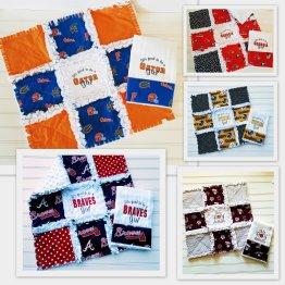 Mini Quilts/Burp Cloth Sets