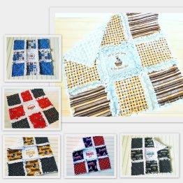 Mini Rag Quilts