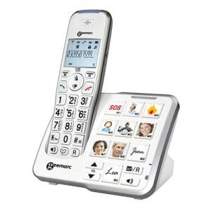 Téléphone sans Fil Numérique Amplidect