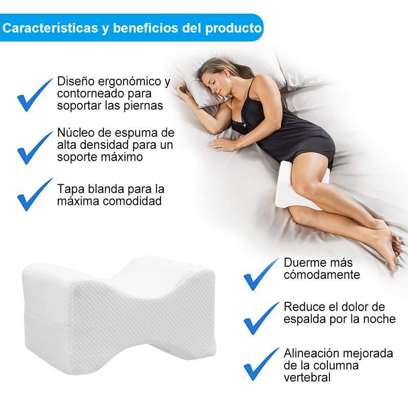 descricion almohada rodilla sweetdream SweetDream la almohada cervical que cambiara tu forma de dormir