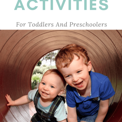 Simple and Fun Outdoor Activities For Toddlers And Preschoolers