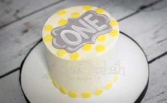 Chalkboard Smash Cake