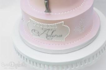 Sweet Christening Cake Details