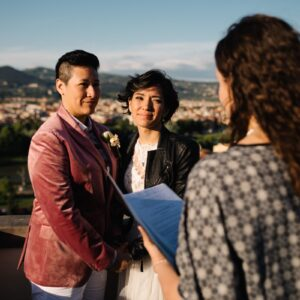 Romantic Same Sex Elopement in Florence 23